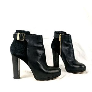 Michael Kors black Bootle with gold detail